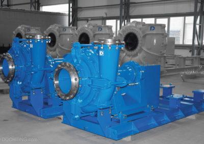 Pumpen im Einsatz Typ WRX