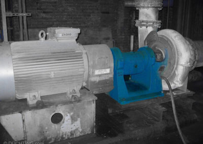 Pumpen im Einsatz Typ WR